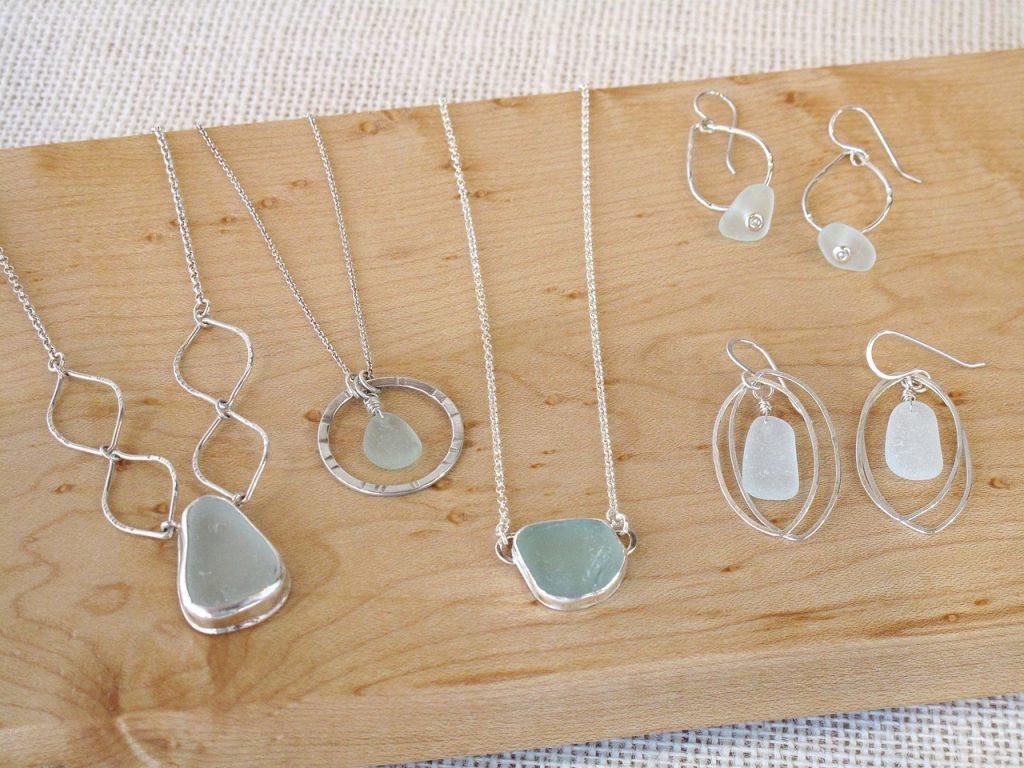 Assorted Sea Glass Jewelry