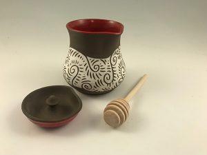 Zwellyn Pottery Honey Pot