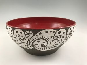 Zwellyn Pottery Salad Bowl